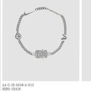 Alyx hero chain 9SM necklace